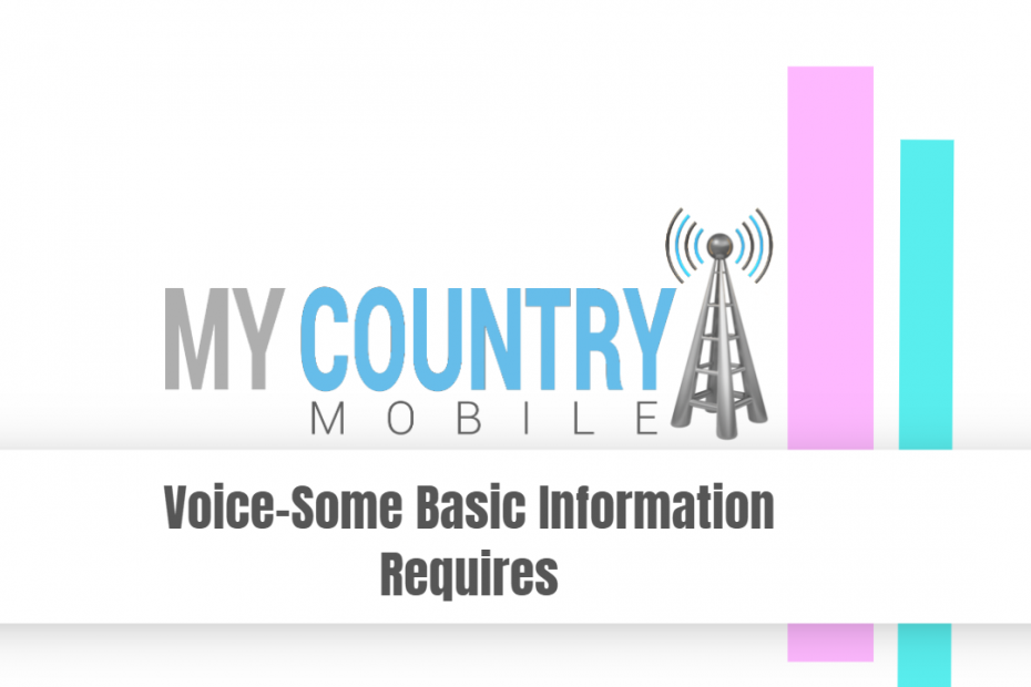 Voice- Some Basic Information Requires - My Country Mobile